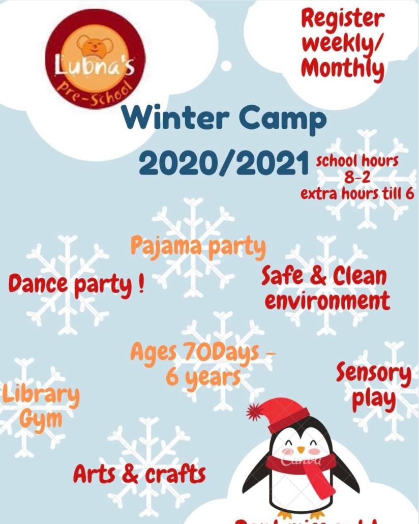 Winter Camp 2020/2021